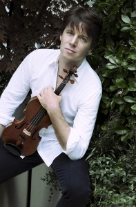 Joshua Bell, courtesy of Marie Mazzucco